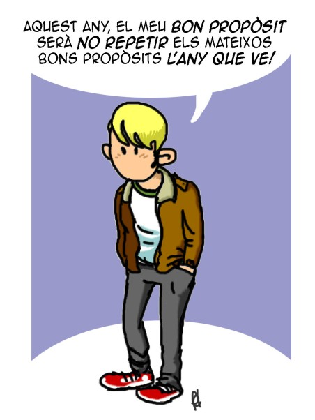 Bons propòsits per l'any nou
