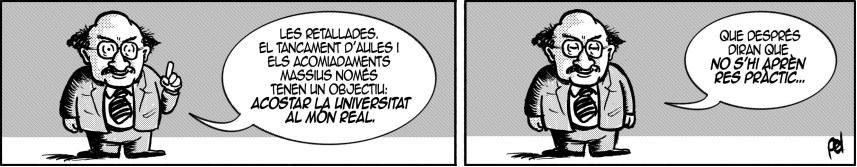 Universitat precària per un futur precari
