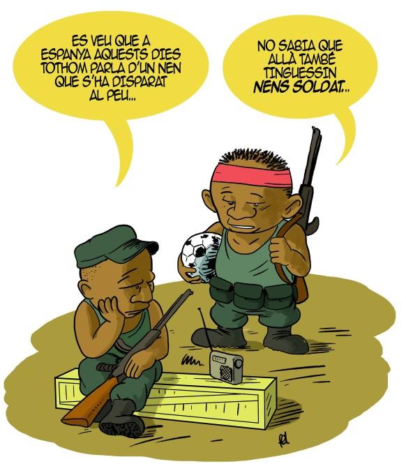 Nens amb armes (que no són Froilan)