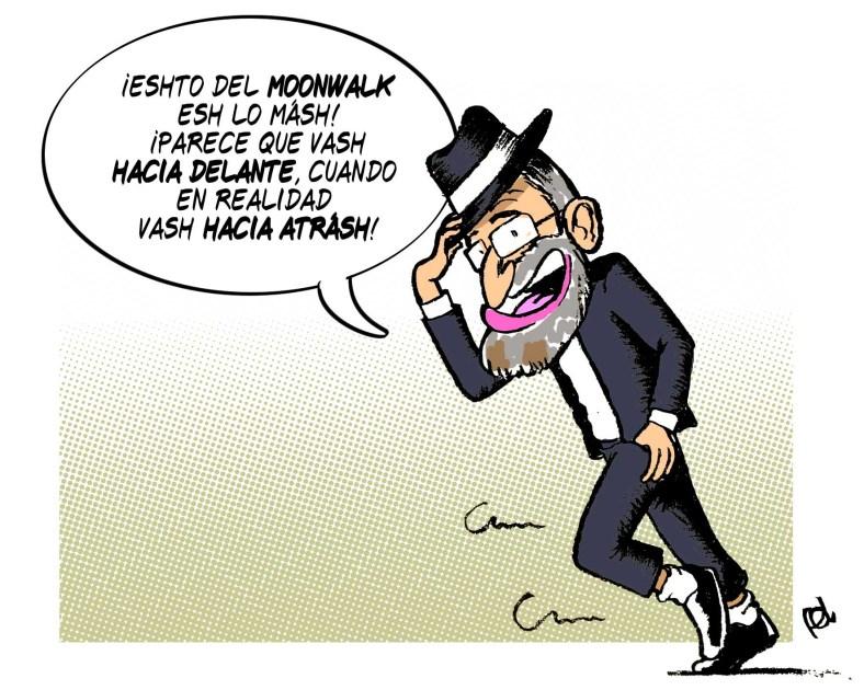 El Moonwalk de Rajoy