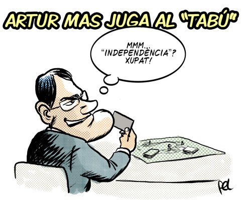 Artur Mas juga al Tabú