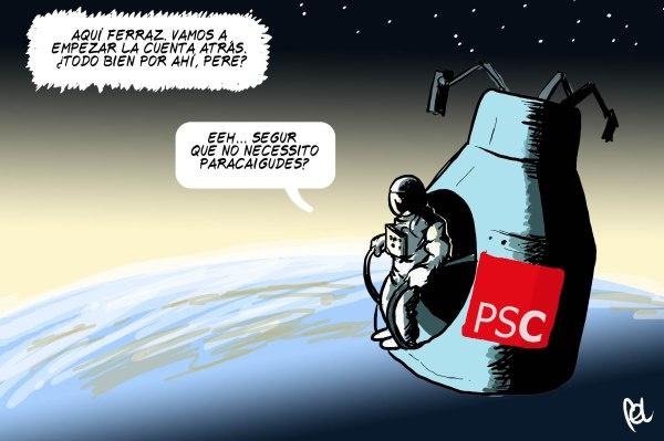 Estampes preelectorals: el PSC, valorant la intenció de vot