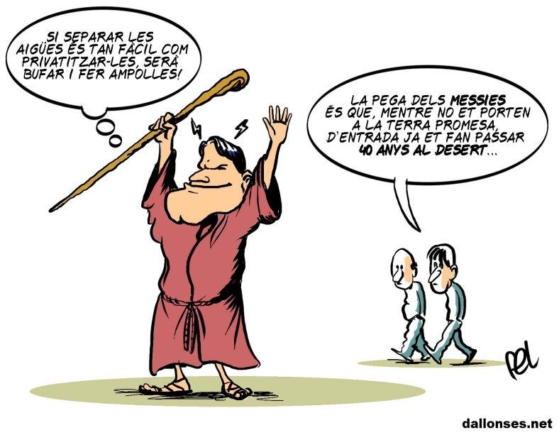 La pega dels messies
