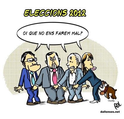 """Eleccions 2012: """"Correlació de forces"""", per dir-ho finament"""