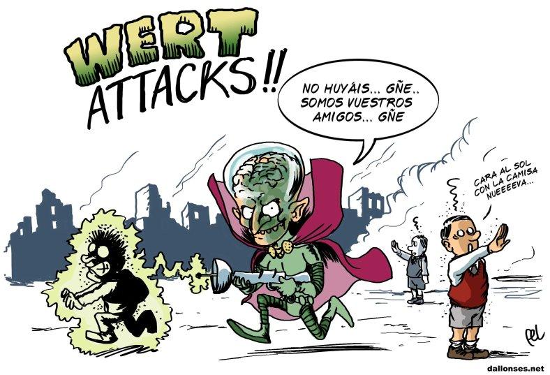 Wert Attacks!