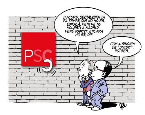 El PSC perd lletres