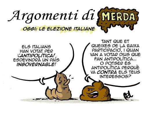 Argomenti di Merda: Le elezione italiane