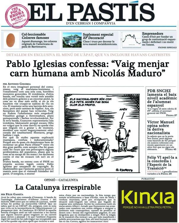 [DIRECTA] El Pastís (d'en Cebrián)